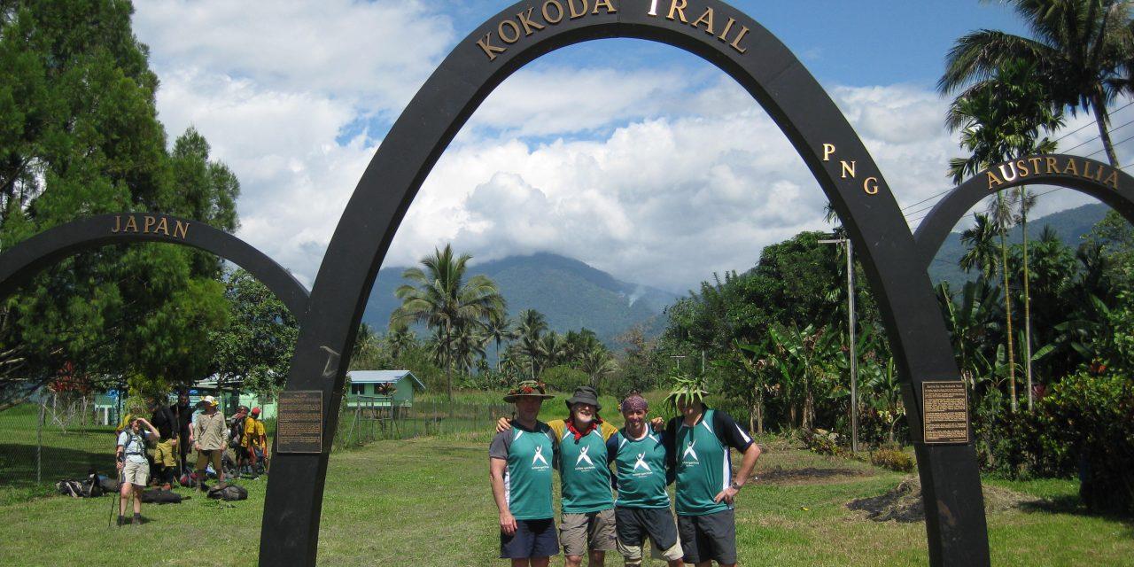 Kokoda treck approaching