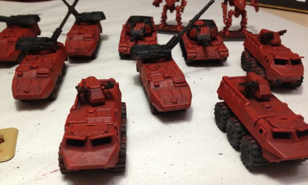 Painting Table: Red Militia