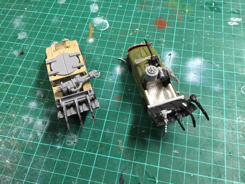 Wrecker plough vehicles