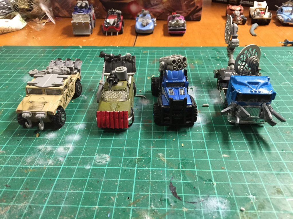 Wreckers in production