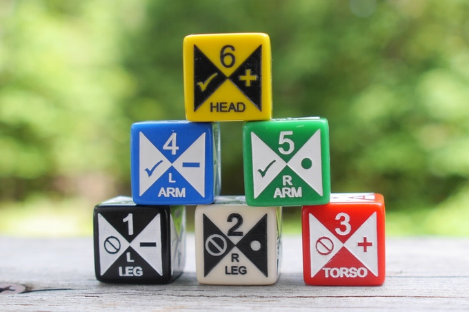 meta dice all six sides