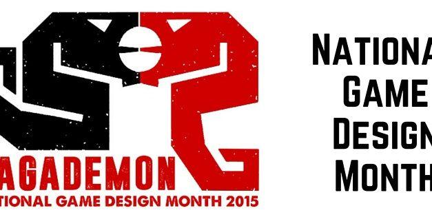 National Game Design Month