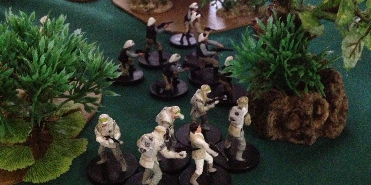 Battle Report: Empire Vs Rebels