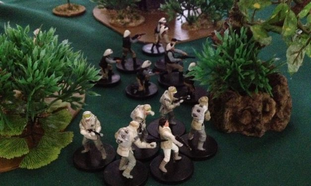 Battle Report: Empire Vs Rebels